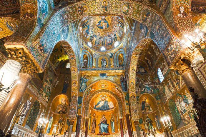 Palermo tra pupi, principi e mosaici