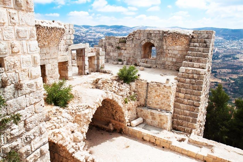 Castello di Ajloun in Giordania 2