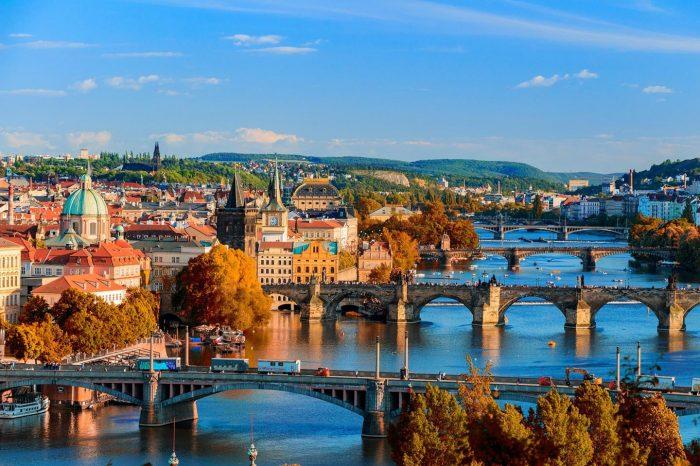 Praga, Salisburgo e Linz