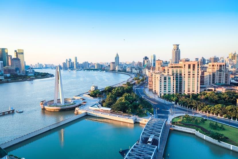 Huangpu di Shanghai