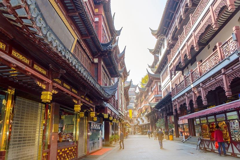 La città vecchia di Shanghai 2