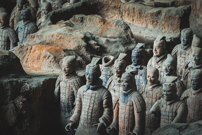 Esercito di Terracotta a Xian