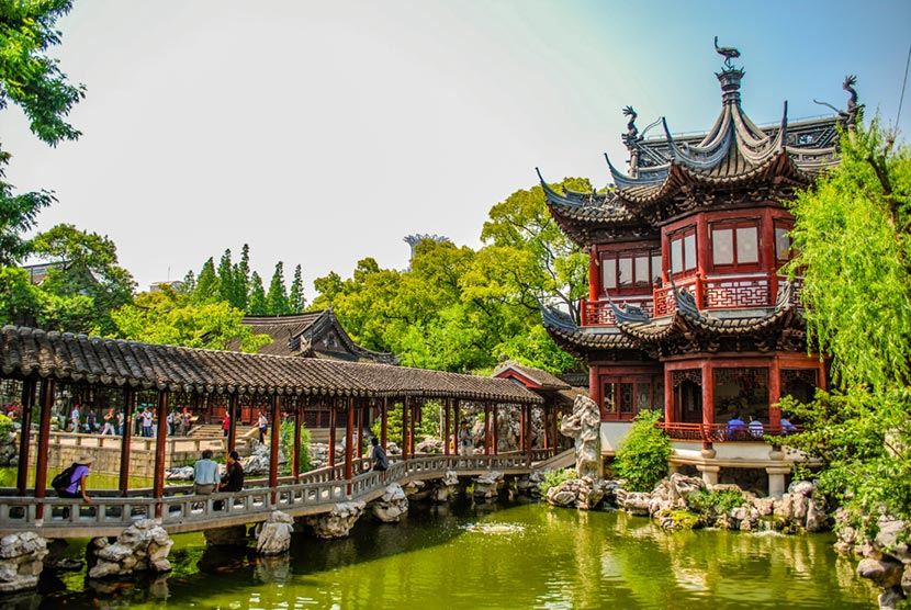 Giardino del Mandarino Yu a Shanghai