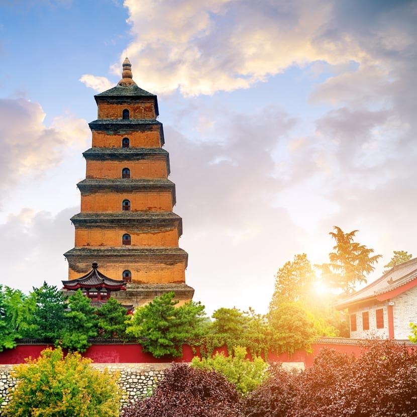 Grande Pagoda dell'Oca selvatica
