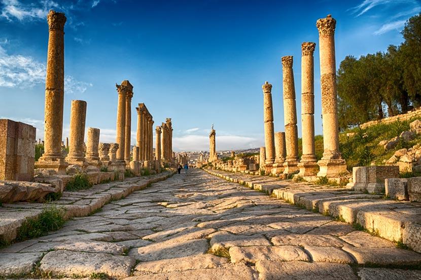 Città greco-romana di Jerash 4