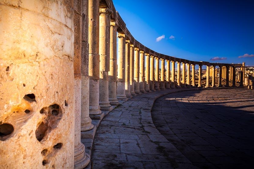 Città greco-romana di Jerash 2
