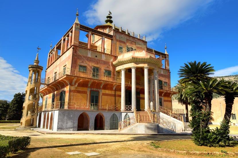 Palazzina Cinese e a Palermo