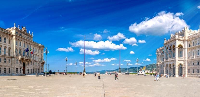 Piazza Unita d'Italia a Trieste