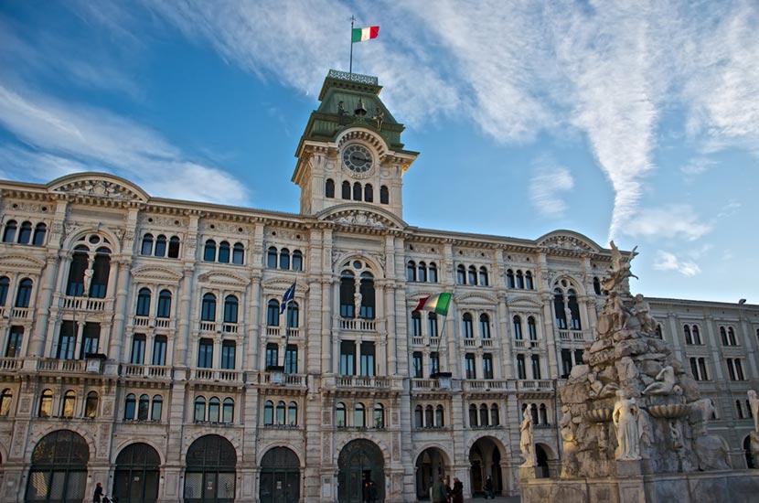 Piazza Unita d'Italia a Trieste 2