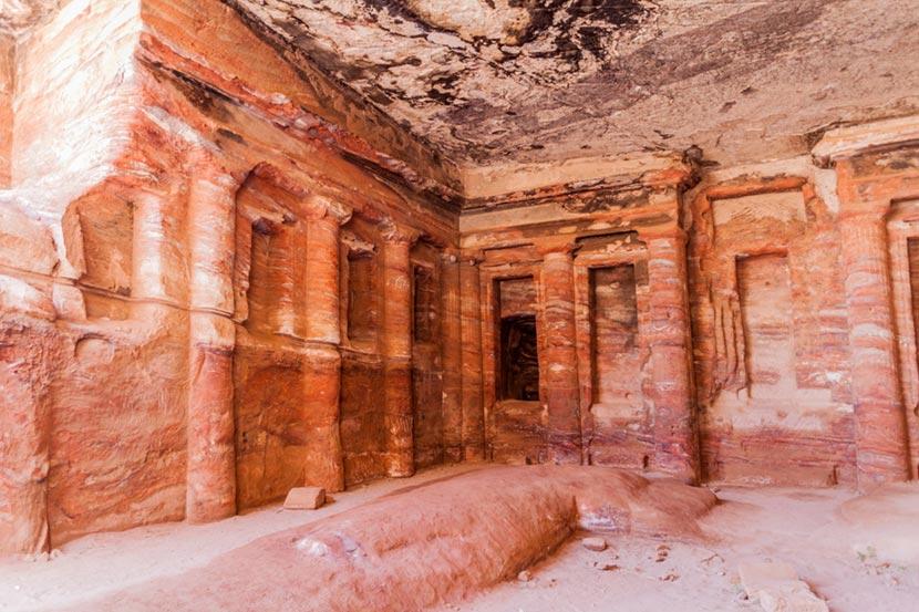 Tombe Reali a Petra in Giordania