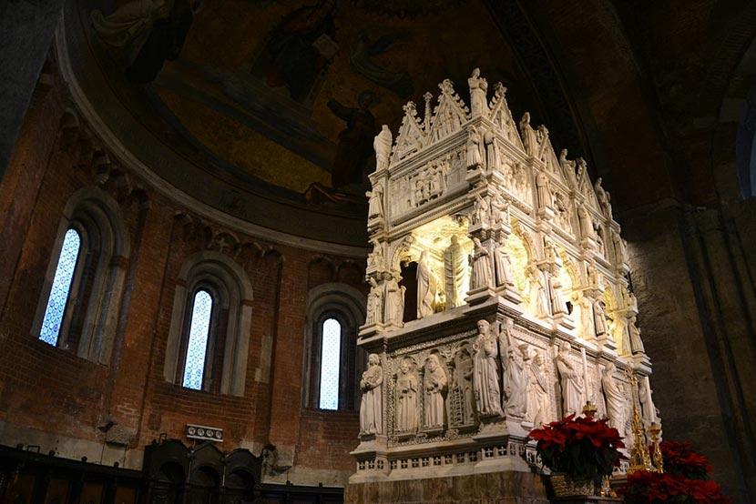 Arca di Sant'Agostino a Pavia