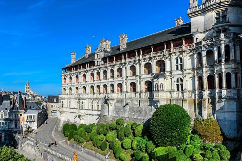 Castello di Blois nella Loira