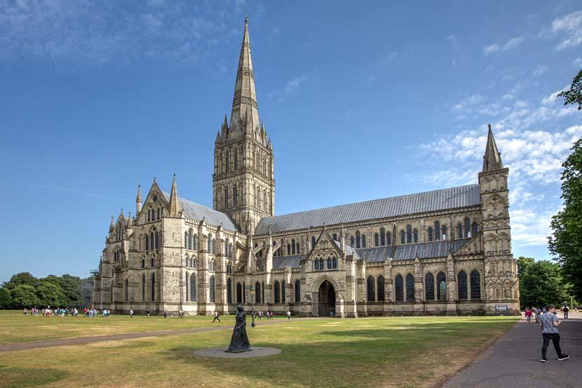 Cattedrale di Salisbury in Cornovaglia