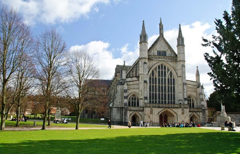 Cattedrale Winchester in Cornovaglia