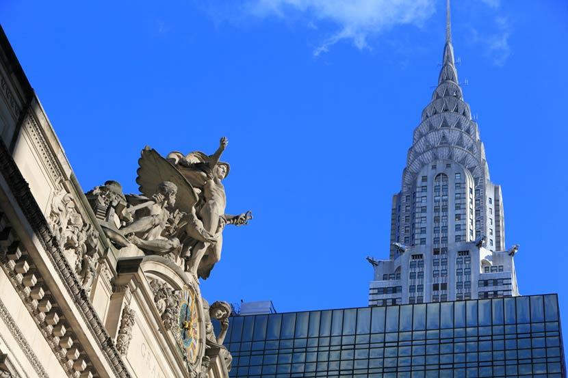 Chrysler Building a New York