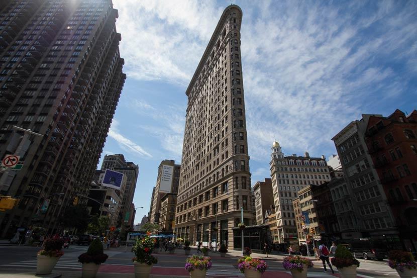 Flatirion Building a New york