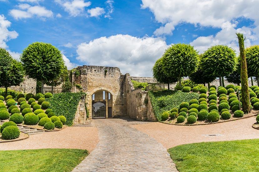 Particolare del Giardino di Amboise nella Valle della Loira