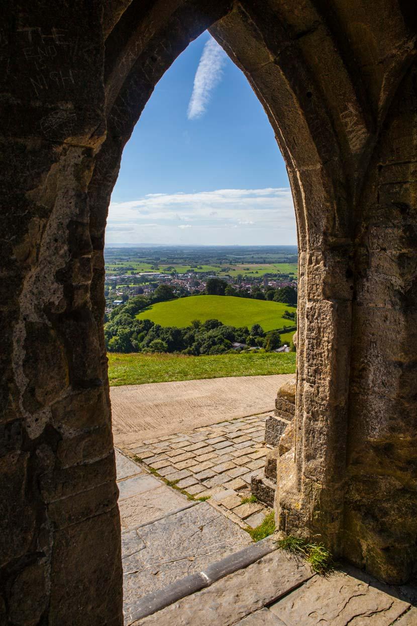 Rovine dell'antica abazia di Glastonbury Tor 2