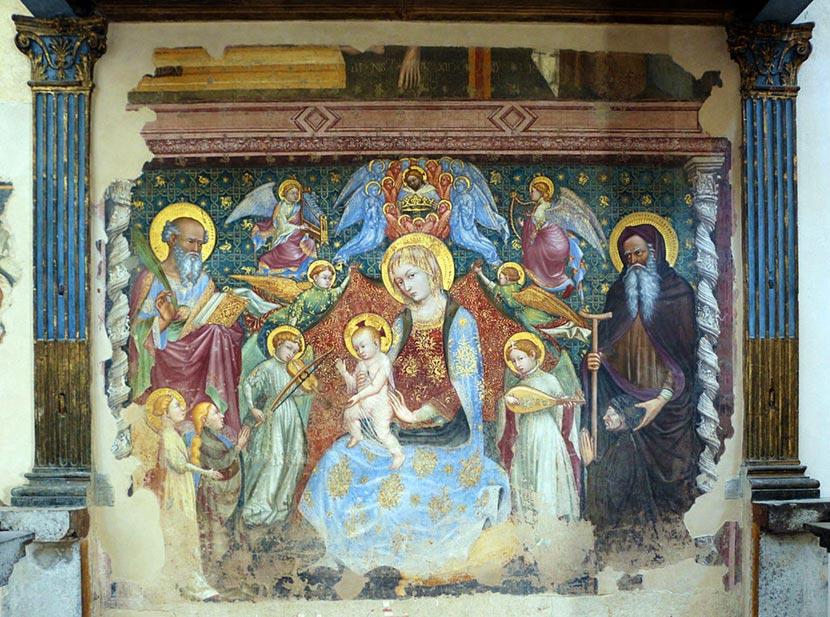 Madonna del Belvedere a Gubbio