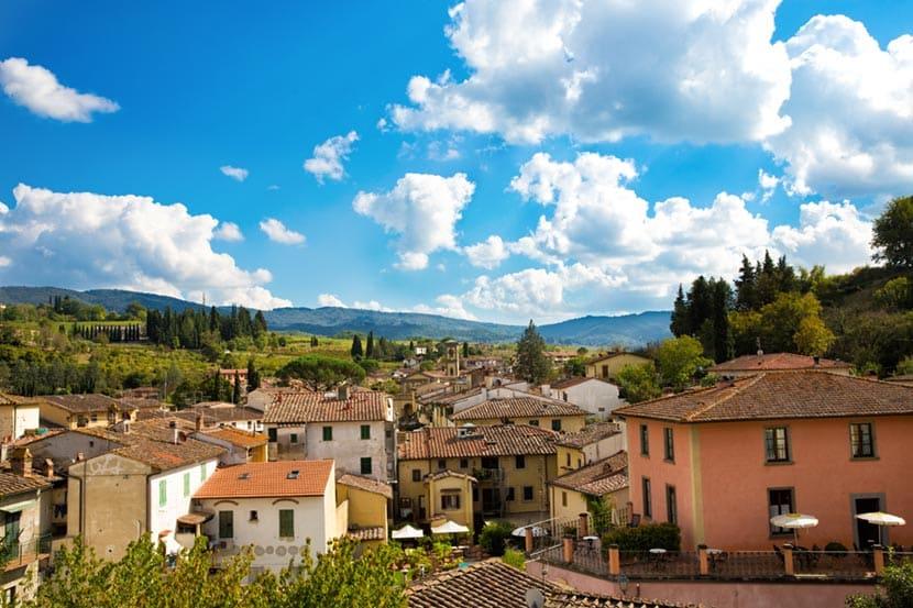 Panorama Greve in Chianti