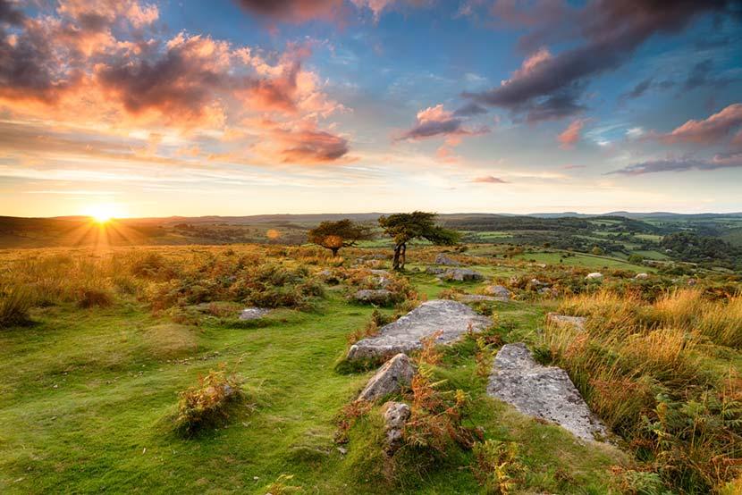Parco Nazionale Dartmoor in Cornovaglia