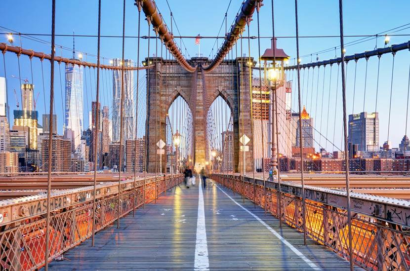 Ponte di Brooklyn a New York 2