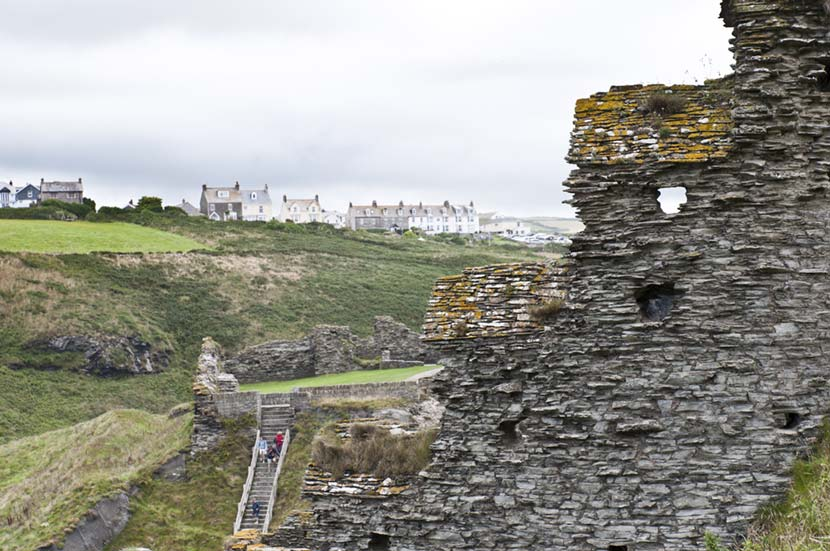 Rovine Castello di Tintagel in Cornovaglia