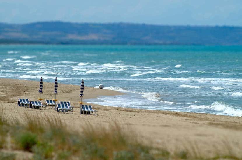 Lungomare e spiaggia di Sant'Antonio di Termoli