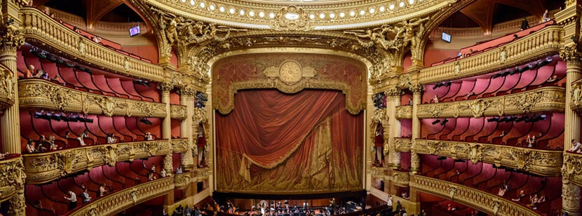 Il Teatro dell'Operà di Parigi