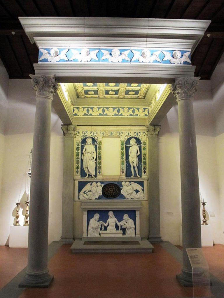 Il tempietto della Reliquia del Sacro Latte a Montevarchi