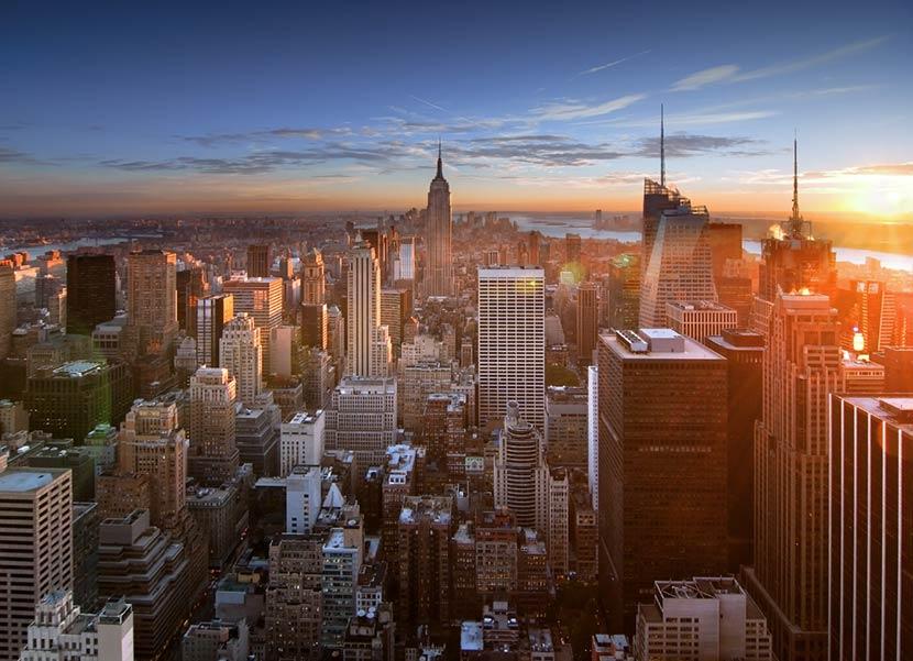 Vista da Top Rock a New York