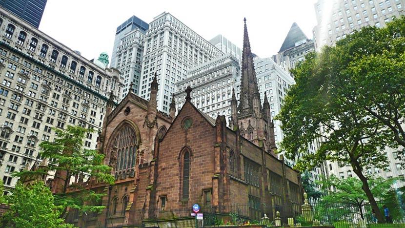 Trinity Church a New York