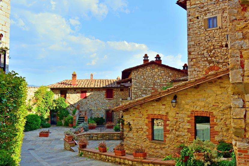 Il Borgo di Vertine nel Chianti