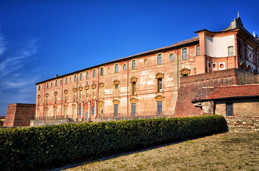 Veduta laterale di Palazzo Ducale di Sassuolo