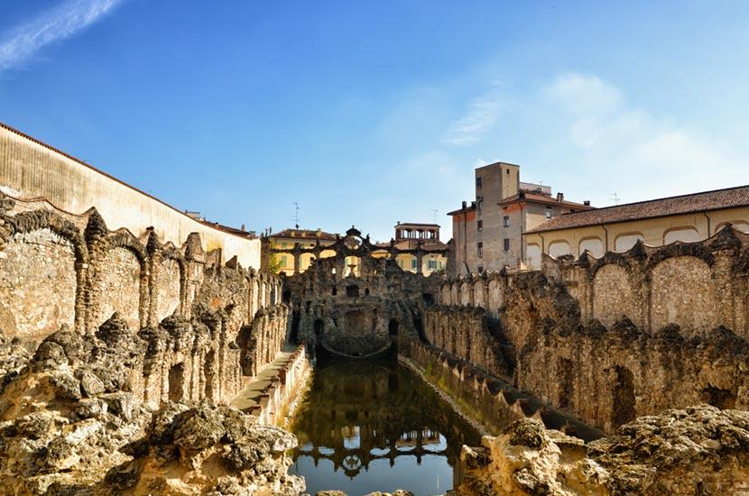 Peschiera di Viale del Giardino di Palazzo Ducale di Sassuolo