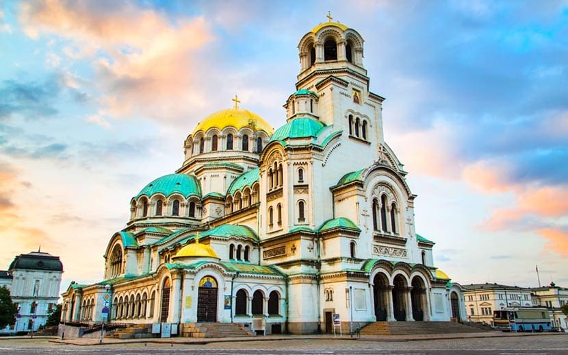 Cattedrale Sant'Alessandro Nevsky a Sofia in Bulgaria
