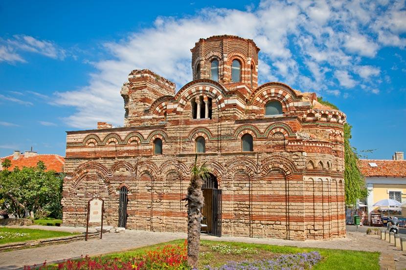 Chiesa Pantocratore a Nessebar in Bulgaria