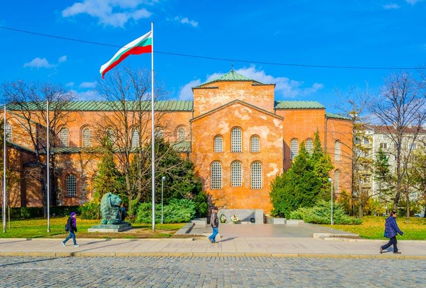 Chiesa di Santa Sofia a Sofia in Bulgaria