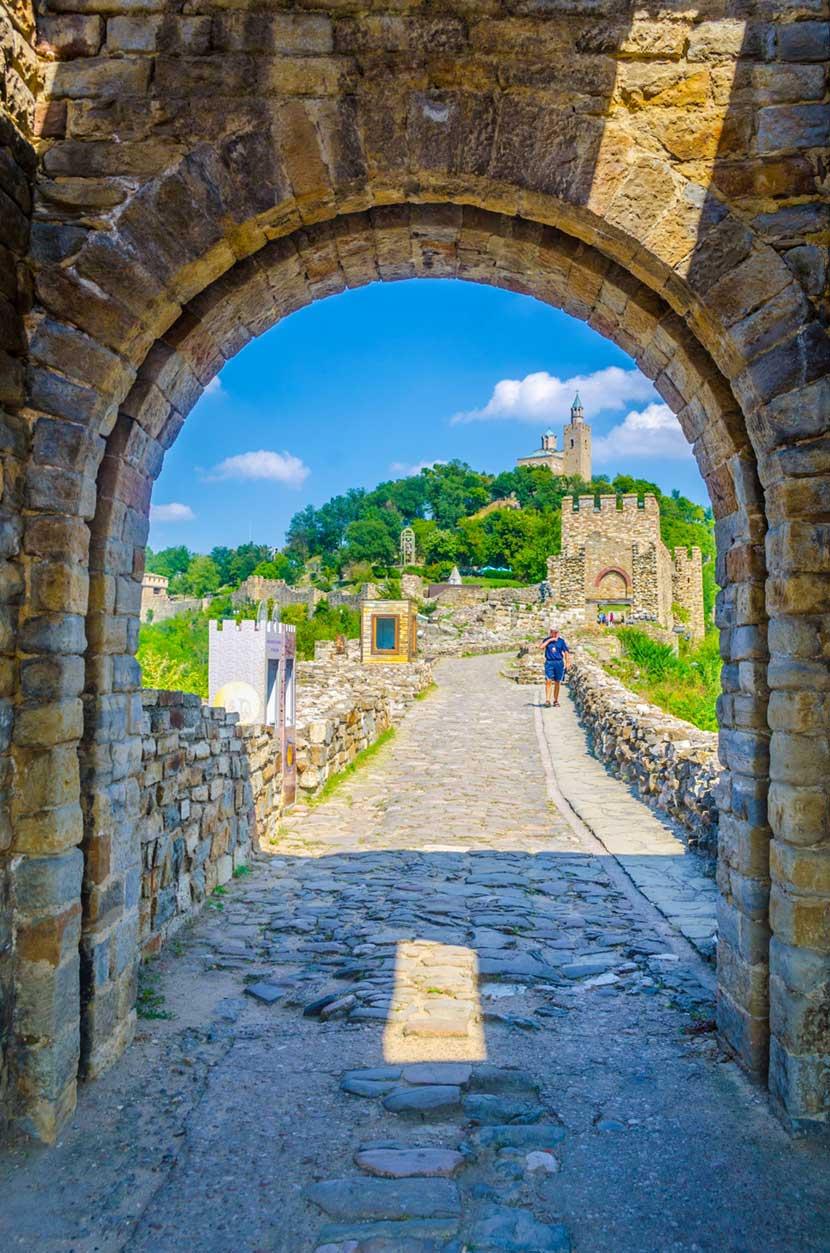 Fortezza di Tsarevets a Veliko Tarnovo 2