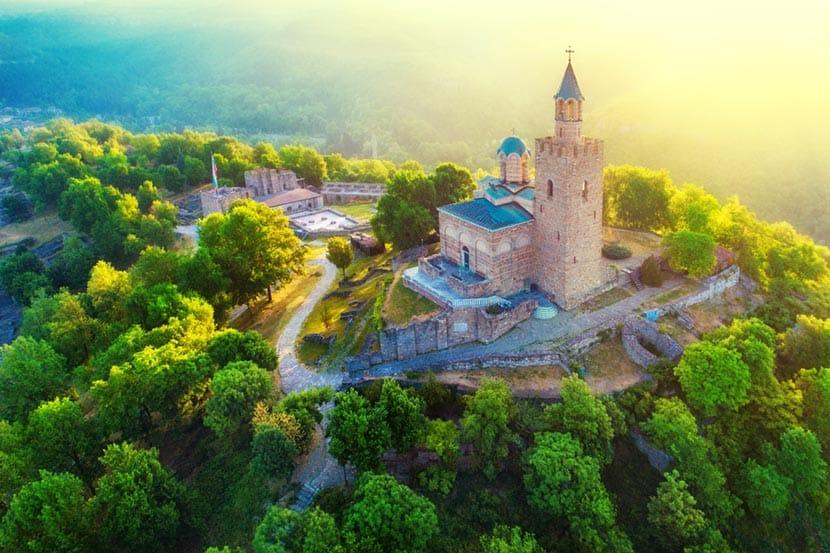 Fortezza di Tsarevets a Veliko Tarnovo