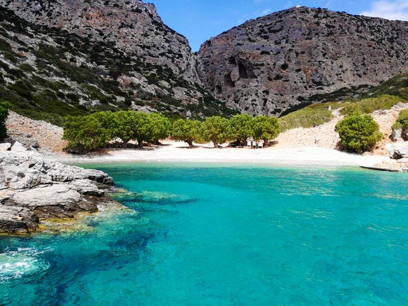 Isola di Saria vicina a Karpathos