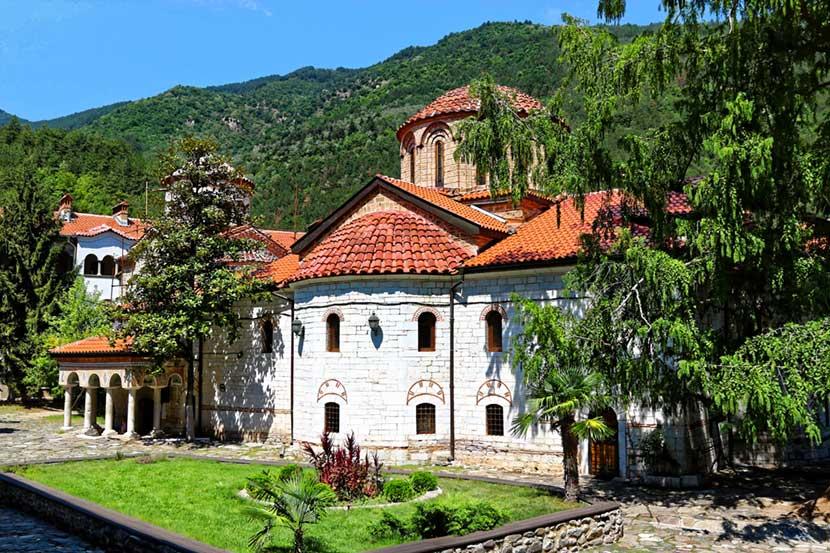 Monastero di Bachkovo in Bulgaria