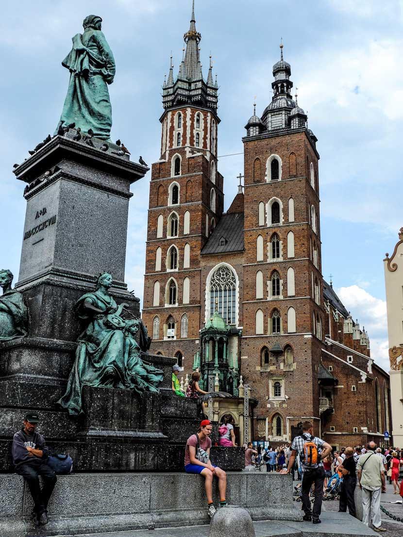 Basilica Saint Mary's a Cracovia