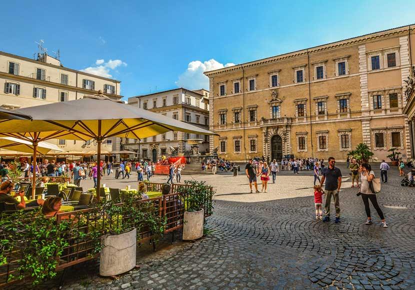 Quartiere Trastevere di Roma