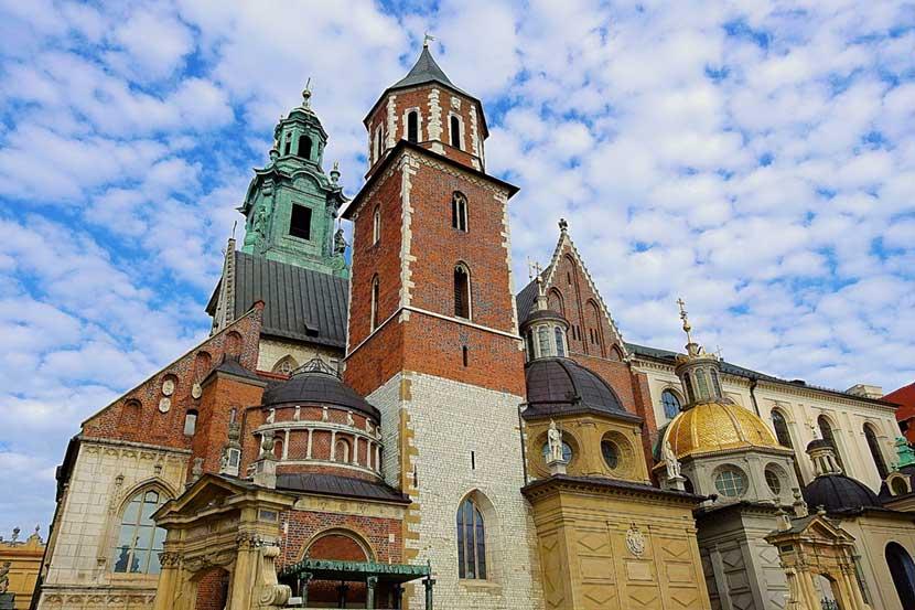 Cattedrale a Wawel a Cracovia
