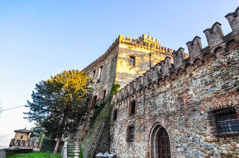 Altro particolare del Castello di Tabiano