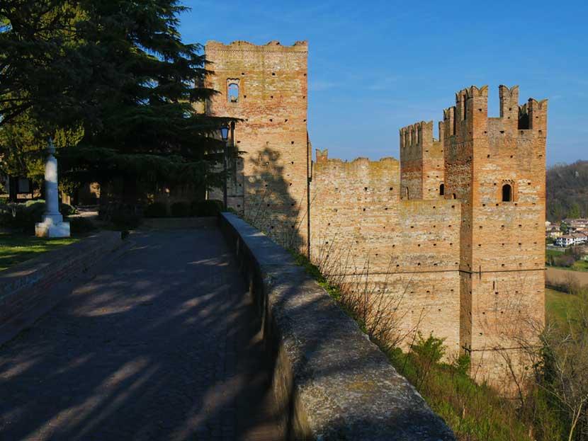 Il Giardino della poesia a Castell'Arquato