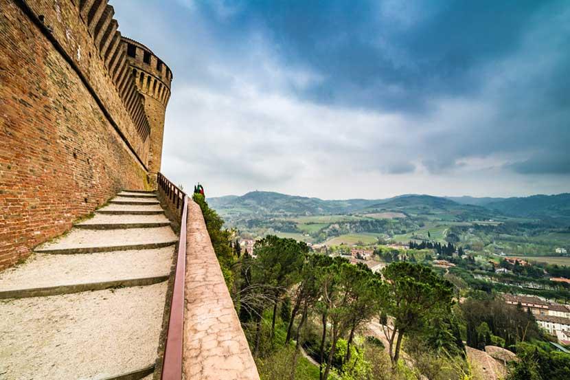 Panorama dalla Rocca Manfrediana di Brisighella