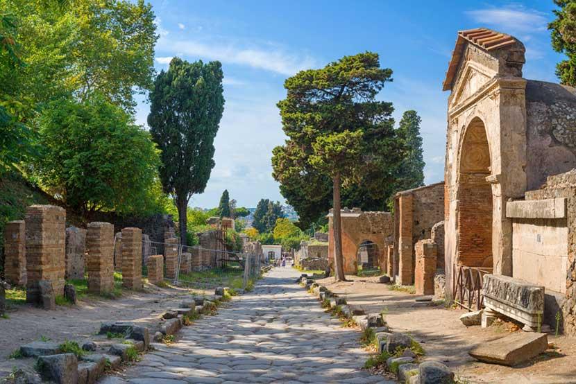 Parco Archeologico di Pompei a Napoli