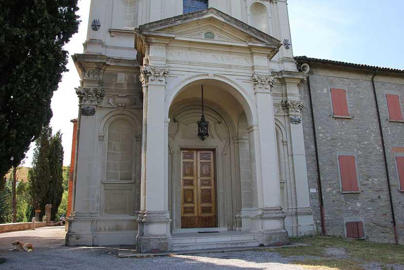 Il Santuario della Madonna di Monticino a Brisighella